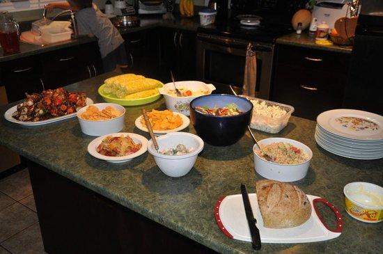 Jubilee Bed & Breakfast: Dinner