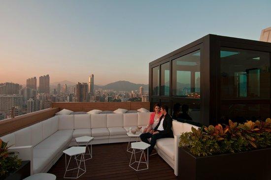 Horizonte Lounge (Hotel Madera Hong Kong)