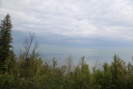 Point Farms Provincial Park: View from lookout