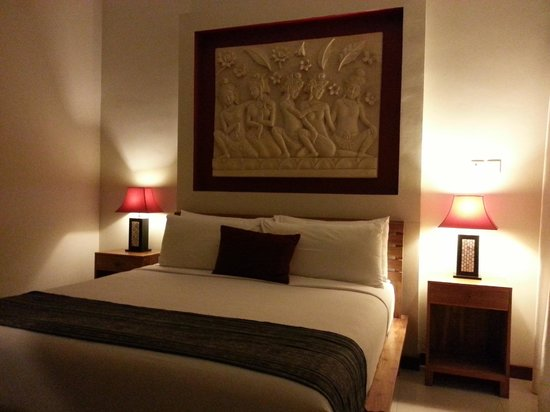 Villa Echo Beach: Ground floor bedroom of 4 room villa