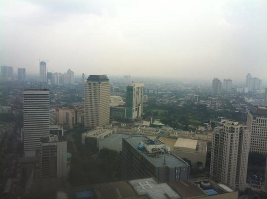 HARRIS Suites FX Sudirman: view from the window