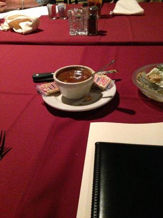 "Davison's Steaks: ""Soup."""