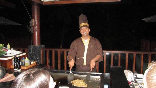 Yuyake Teppanyaki at Legian Beach: Chef