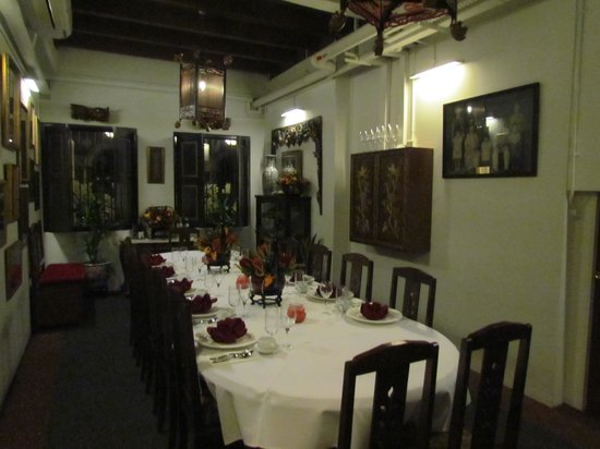 True Blue Cuisine: Private function room