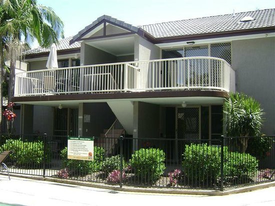 Weyba Gardens Resort Noosa : Outside of apartments