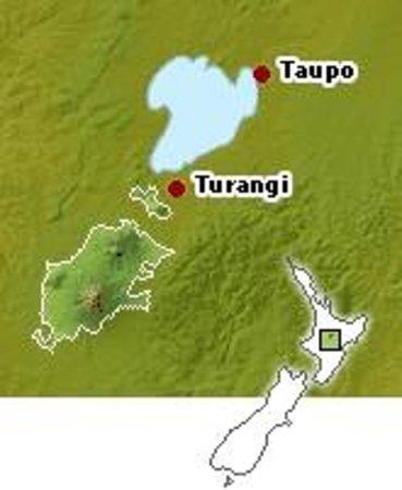 Asure Parklands Motor Lodge: Location Map
