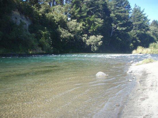 Asure Parklands Motor Lodge: Tongariro River  2 minutes away