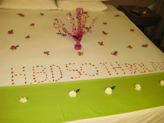 Banthai Beach Resort & Spa: Complimentary Birthday wishes