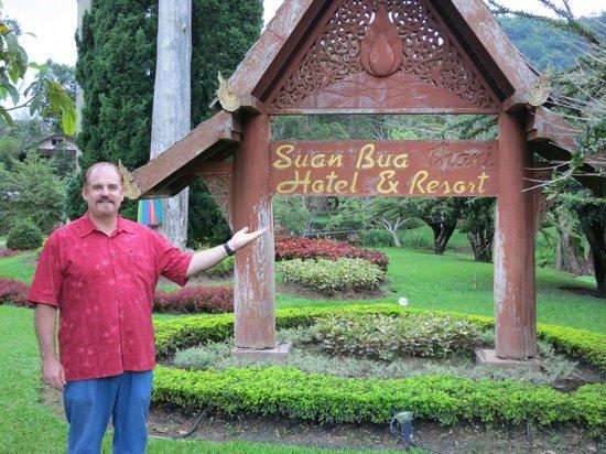 Suan Bua Hotel & Resort: Signage