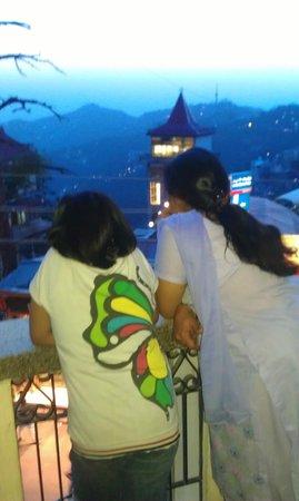 Hotel Samrat SS: View from balcony