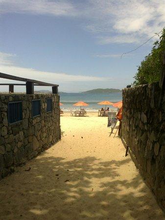 Pousada Alforria: Bajada a la Playa