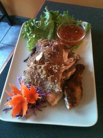 Thai Corner: Marinated BBQ Chicken