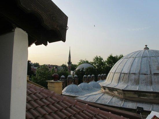 Ottoman Hotel Imperial: Vistas desde el comedor del desayuno