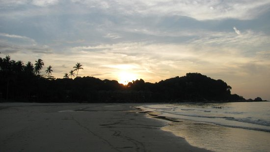 Angsana Bintan: Beach in the Evening