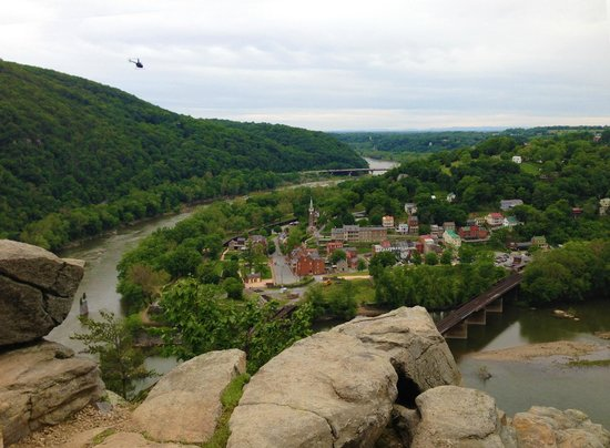 Harpers Ferry Overlook Cliff Picture Of Harpers Ferry National - Trip advisor harpers ferry
