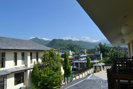 Atithi Resort & Spa : Mt. Fishtail View From Luxury Room