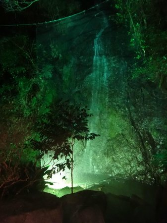 Seiranso: 夜の露天風呂