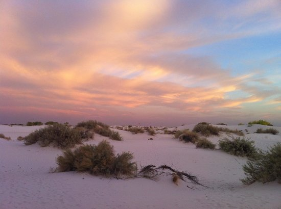 Alamogordo, Nuevo Mexico: White Sands and Sunset