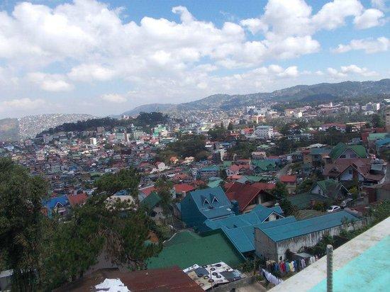 Baguio Jalo Apartelle: view on top