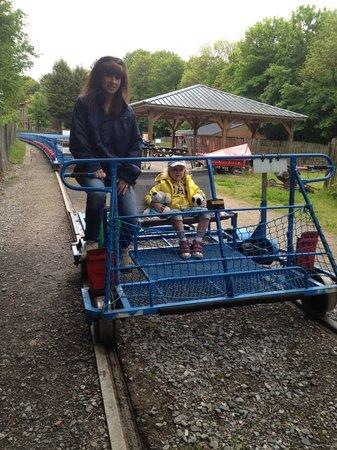Rando Rail du pays de Lumbres : Day out at Rando Rail