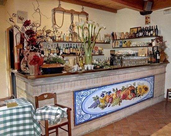 Il Giardino dei Sapori : Bar at the entrance
