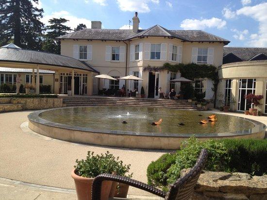 The Vineyard Hotel & Spa: Beautiful in the sun shine