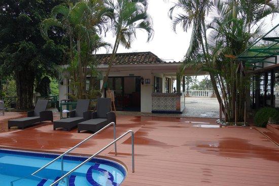 Pousada de Coloane Beach Hotel & Restaurant: レセプション