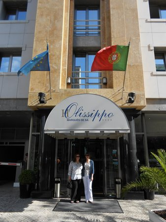 Hotel Olissippo Marques de Sa : View of entrance
