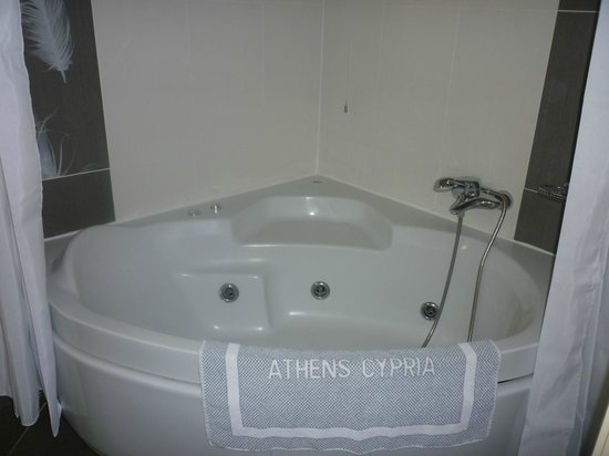 Athens Cypria Hotel: Bad