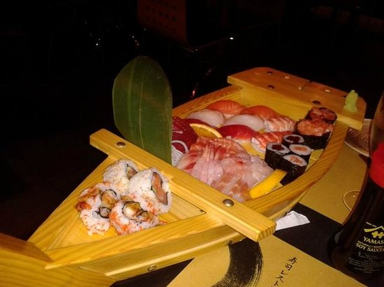 Zen Sushi : barca mista per due persone