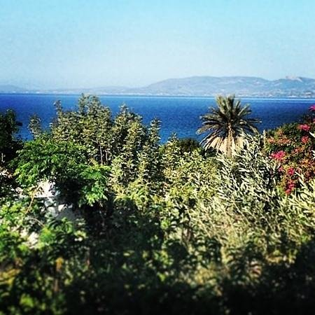 Pefkos Village Resort: the view from our balcony