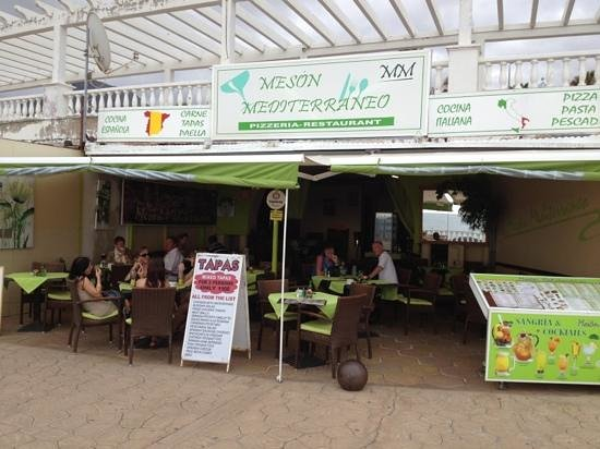 Meson Mediterraneo : This is what it actually looks like