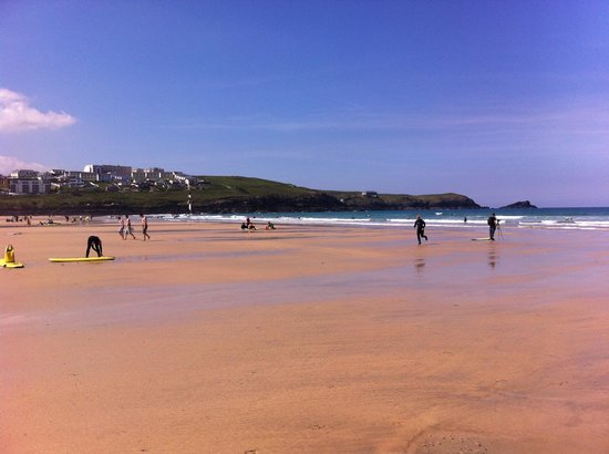 Ocean Lodge Newquay : The beach, stone throw away!