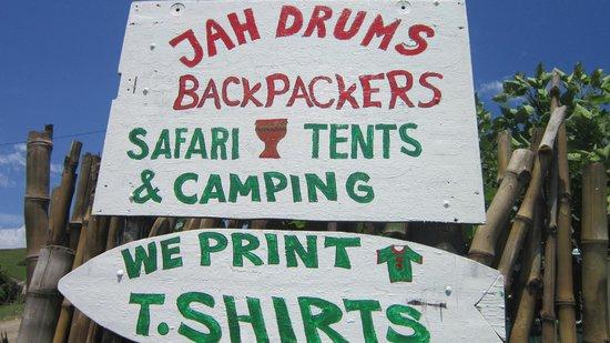 Jah Drums: Entrance