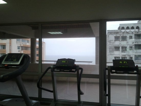 Hotel Avenida: Gym
