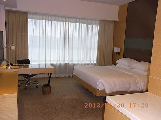 Hyatt Regency Hong Kong Sha Tin: ベッド
