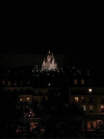 Avenir Hotel: Vu sur le sacré coeur quelle merveille