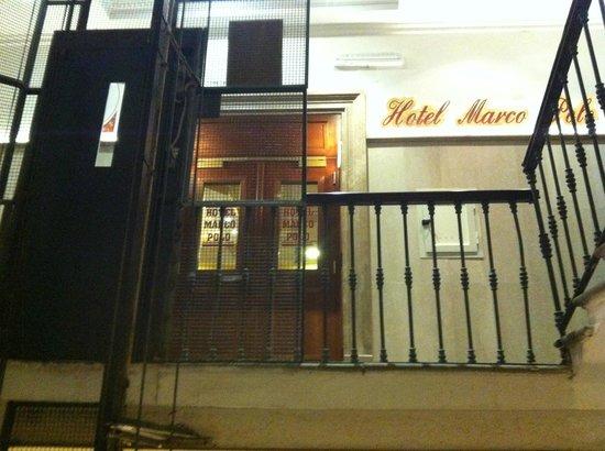 Marco Polo : Zugang zur Hoteletage