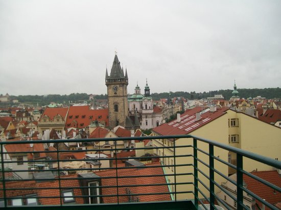 Hotel Leon D'Oro: View from the balcony