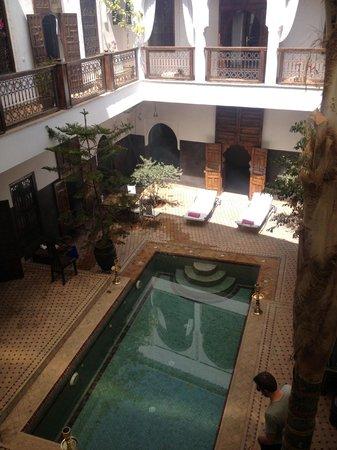 Riad Kasbah : Pool View
