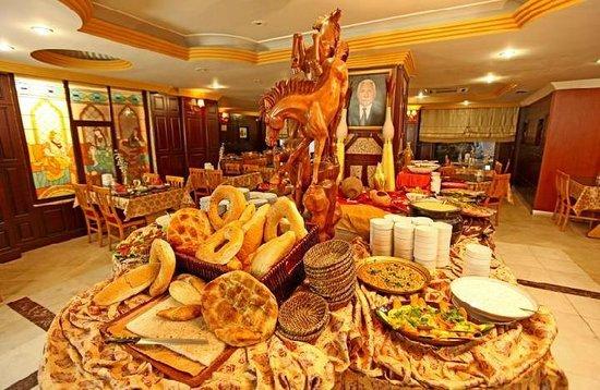 Hotel Buyuk Hamit : restorant
