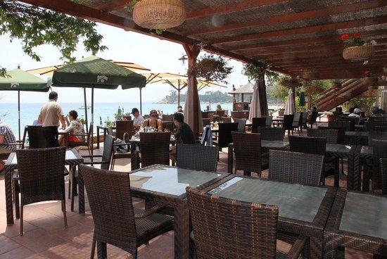 Hotel Ibersol Cavaliere Sur Plage : Bar exterior