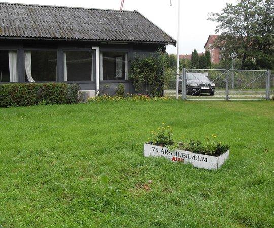 Ajax Copenhagen Youth Hostel : Eingang aufs Gelände