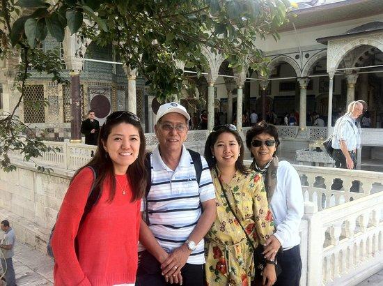 Turkland Tours Istanbul Day Tours: Fourth courtyard of Topkapi Palace