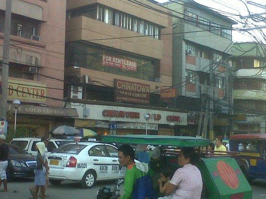 Binondo: Photo taken from the Sta Cruz Church