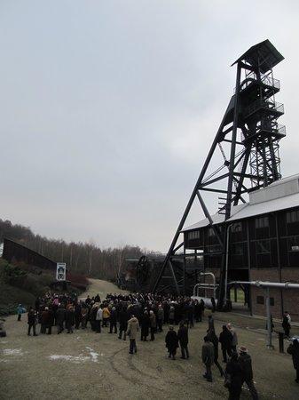 Le Bois du Cazier: Esterno della miniera