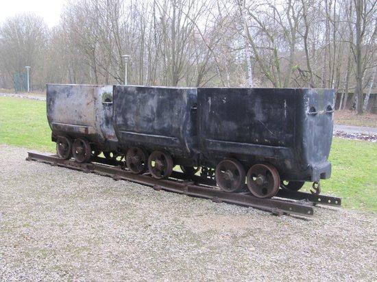 Le Bois du Cazier: Il carrello di carbone