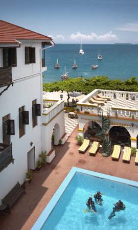 Tembo House  Hotel & Apartments: beautiful view of indian ocean