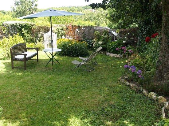 Les Hortensias : Jardin