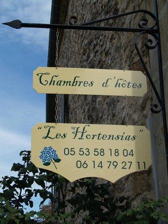 Les Hortensias : Accueuil